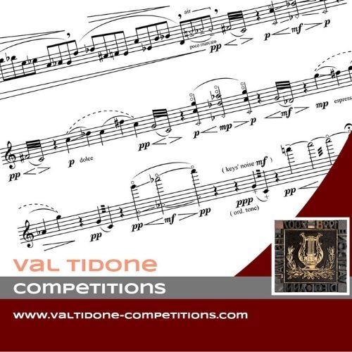 Concorsi Internazionali di Musica della Val Tidone 2021 – 23^ Edizione